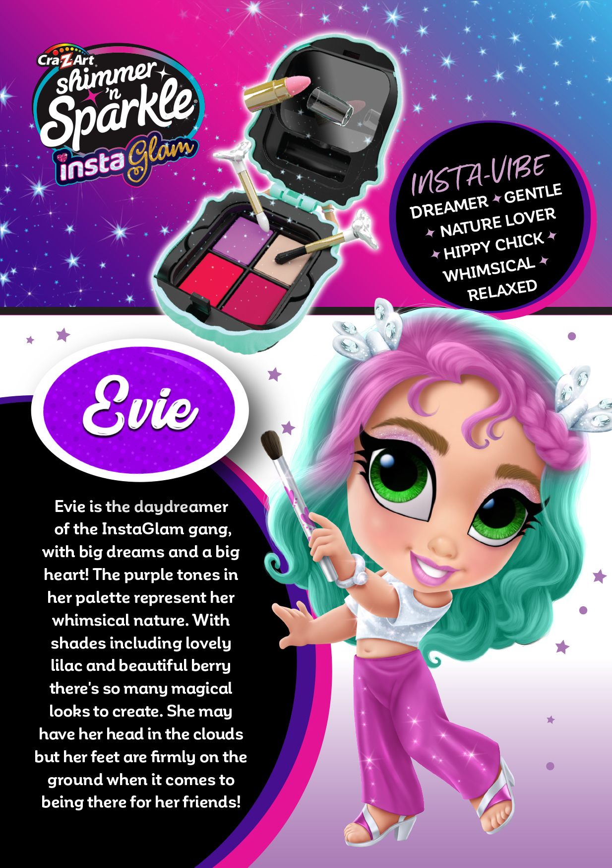 Character Card - Evie