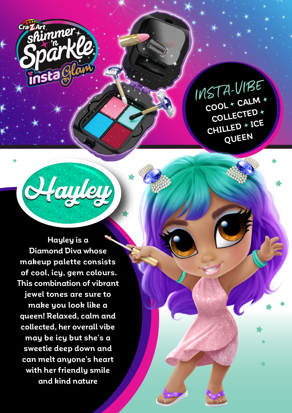 Character Card - Hayley